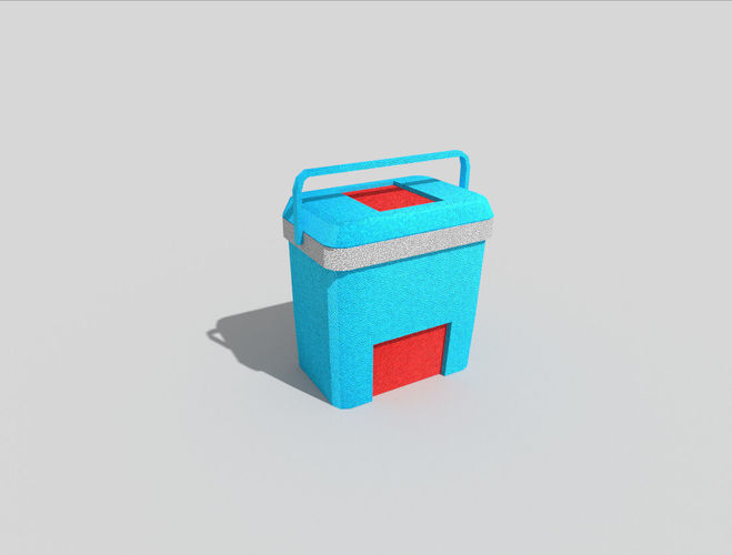 low-poly-beach-cooler-3d-model-low-poly-obj-3ds-fbx-stl-blend-dae
